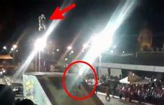 locutor atropelado em evento de motocross em barreto