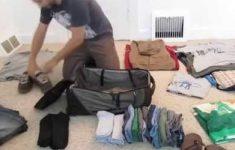 Como organizar uma mala de viagem em pouco espaço