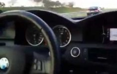 BMW leva coro de Honda Civic a 300 km/h