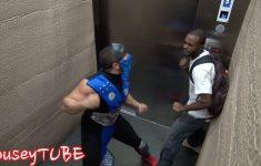 Pegadinha – Mortal Kombat no Elevador