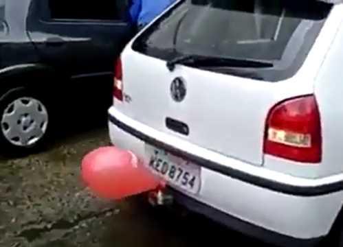 novo sensor de estacionamento