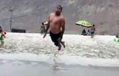 Mergulhando na Areia