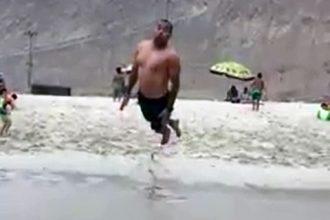 Video Cacetadas: Mergulhando na Areia