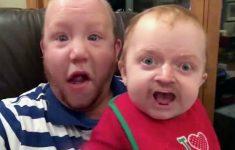 trocando-de-rosto-com-bebe
