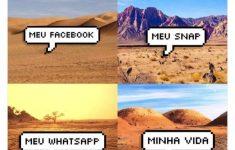 a verdade sobre minhas redes sociais