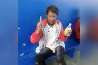 Bêbados: A cachaça liberou a franga