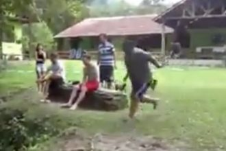 Video Cacetadas: Cachaça tomou tombo feio de moto