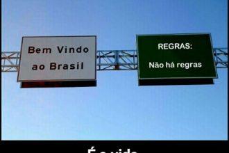 Bem vindo ao Brasil