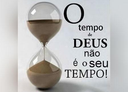 Mensagem: Tudo no tempo de Deus