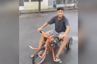 Videos: Que bicicleta estranha é essa?