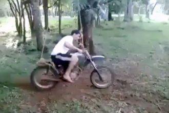 Videos de Moto: Balanço com Moto