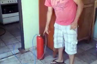 Como Fazer: Improvisando no gás de cozinha