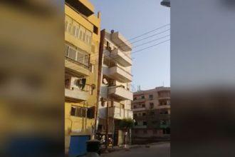 Acidentes: O prédio que descolou do outro