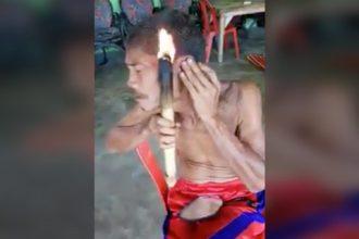 Videos WhatsApp: Pastor tirando demônio da mulher