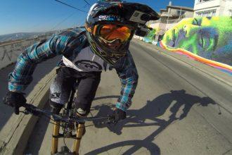 Videos: Esses caras são fera na bike