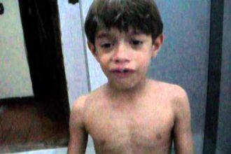 Videos Engraçados: Menino se assusta no lava-rápido