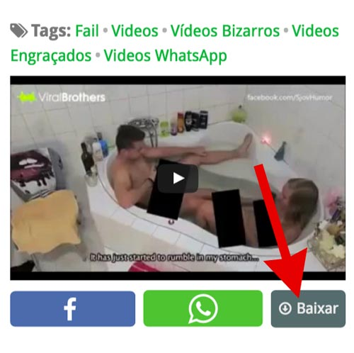 baixar vídeo para status do whatsapp