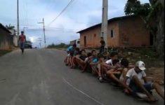 Trenzinho de Rolimã no Morro