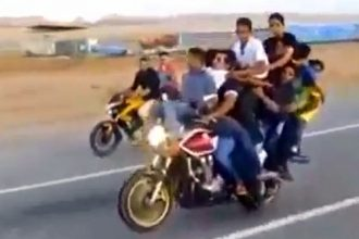 Videos de Moto: Vai uma carona aí?