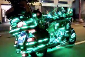 Videos de Moto: O maluco da scooter