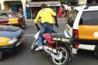 Videos de Moto: Motoqueiro Jamaica vida loka