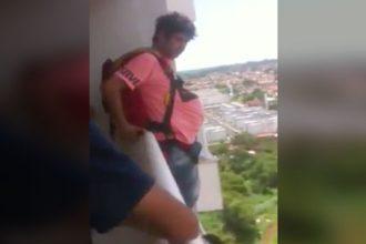 Videos Radicais: Criança dando borrachão no carro